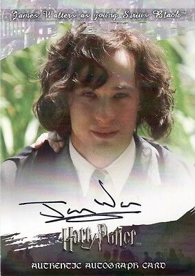 World of Harry Potter in 3D II James Walters as Young Sirius Black Auto Card