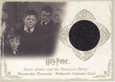 Harry Potter Memorable Moments Vincent Crabbe C1 Costume Card 130/660
