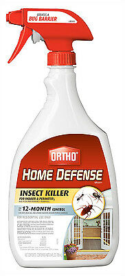 24 Oz Insect Spray Bug Killer Roach Ant Spider Indoor Outdoor Home Pest Control