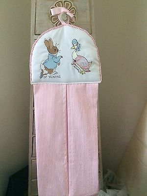 Peter Rabbit Jemima Puddleduck Nappy Stacker In Pink Shades