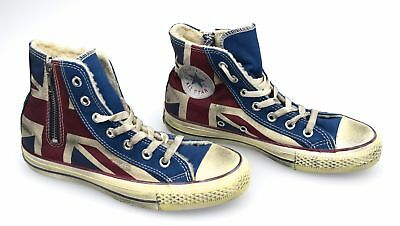 Art1c503 All Sneaker Donna Inglese Bandiera Scarpa Converse Star Vintage 7ygbf6Yv