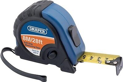 Draper 82819 Professional Measuring Tape | 8M/26ft Black