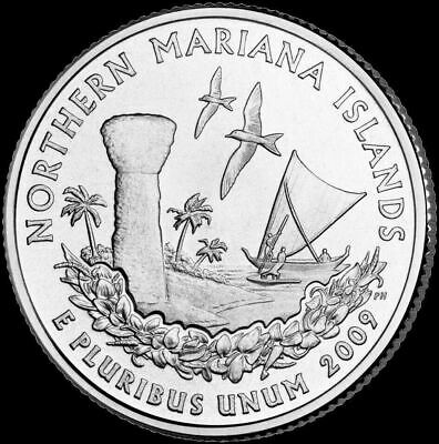 2009 P Northern Mariana Islands Territorial Quarter New Uncirculated Coin MP