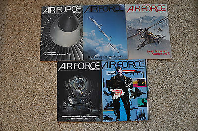 Air Force Magazine January February March April December 1982
