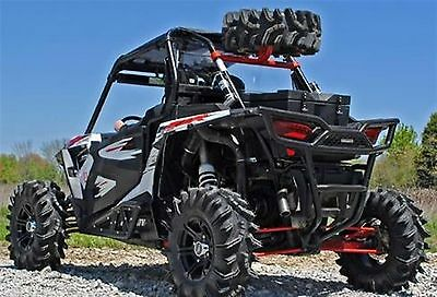 Polaris RZR 1000 Spare Tire Carrier (Wrinkle Black) XP4 / TURBO / XP1K
