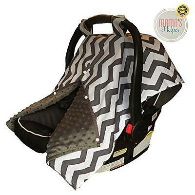 Premium Baby Carseat Covers | Car Seat Canopy Blanket by Mama's Helper | Perfect