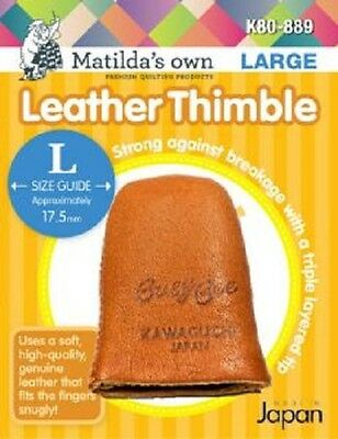Matildas Own Leather Thimble Small, Medium, Large and Extra Large