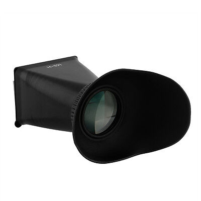 "LCD Screen Viewfinder 2.8X V1 3"" 4:3 Eyecup Extender Finder Loupes For Canon 5D"