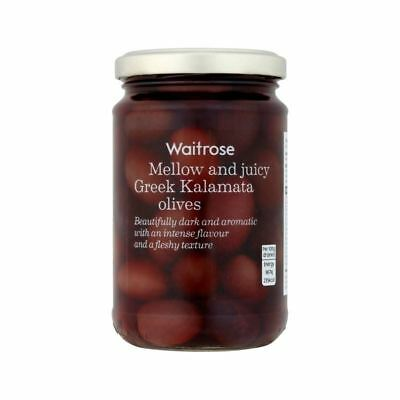 Whole Kalamata Greek Olives Waitrose 300g
