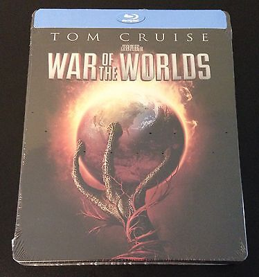 WAR OF THE WORLDS Blu-Ray SteelBook Best Buy Exclusive Ltd Ed OOP Sold Out Rare