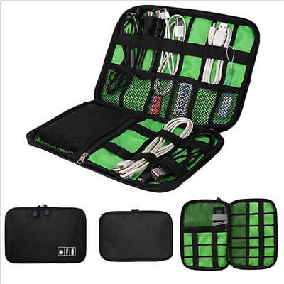 Insert USB Bag Organizer Portable Cable Travel Case Drive Electronic Accessories