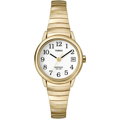 Timex Gold Classic Indiglo Easy Reader Analogue Ladies T2H351 Watch New