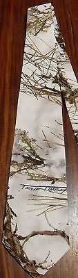 White snow MC2 Twill/cotton True Timber Camouflage/Camo NeckTie ships48 hrs