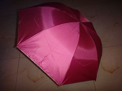 NEW Cute Super Mini Compact 3 Folding Rain SUN Umbrella for Women MAN AS GIFT