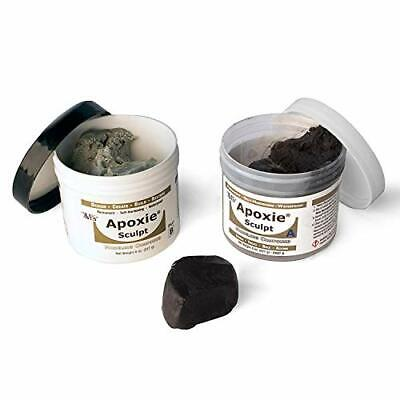 Apoxie Sculpt  two-part epoxy multiuse modeling clay self-hardening 1 lb.Black