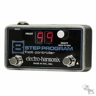 Electro-Harmonix EHX 8-Step Program 2-Button Foot Controller Effect Pedal - Used