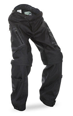 FLY RACING Offroad 2017 PATROL Convertible Over-Boot Pants (Black) Choose Size