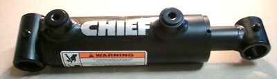"""Brand New Chief Welded Cylinder 2"""" Bore X 4"""" Stroke With 1 1/4"""" Diameter Rod"""