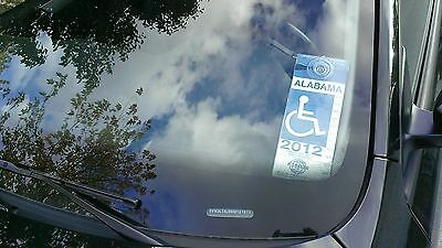 Get 2 (TWO) Strong Rigid Handicap Placard Disabled Tag Permit Parking Holders