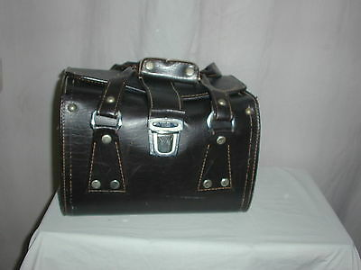 Rare Vintage Omnica Brown Leather Camera Bag ideal for a collection - Reduced!