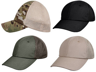 TLC Ladies Mesh Panel Hat Breathable Cooling Material Moisture Wicking Fabric