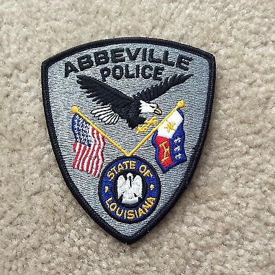 Abbeyville Police Department patch