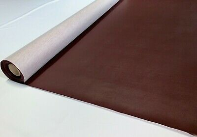 """5 Yards Burgundy Wine Faux Leather Auto Upholstery Fabric Vinyl 54"""" Pleather"""
