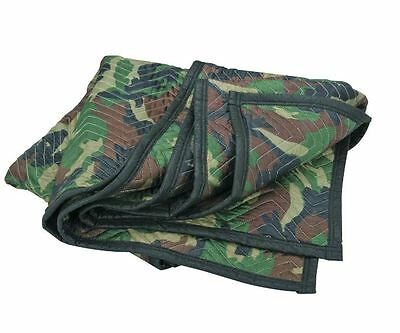 Camouflage Pro Mover Moving Utility Blanket Furniture Moving  Pad 72 x 80 48lbs