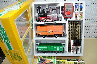 LGB/Primus 91401 Steam Locomotive Freight Car Set *G-Scale* NEW