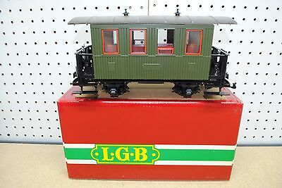 LGB/Baumann 20/3006 Passenger Car (Green) *G-Scale* NEW