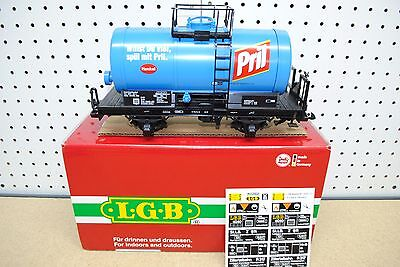 LGB 44405 Pril Two-Axle Tank Car *G-Scale* (Henkel)
