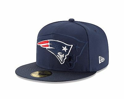 538987e92 New England Patriots New Era Blue Sideline Official 59Fifty Fitted Hat