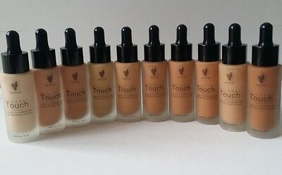 Hot 10 Colors Full Size 20ml All Shades Younique Touch Mineral Liquid Foundation