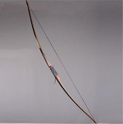 45lbs IRQ Archery 68'' Recurve Bow Wooden Traditional Hunting Shooting Longbow