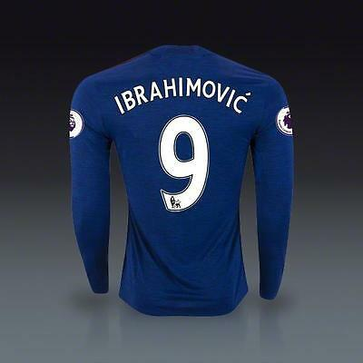 Ibrahimovic Manchester United LS extérieur football 9