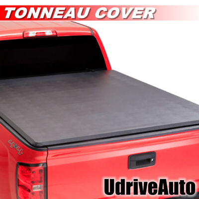 Lock Soft Roll Up Tonneau Cover -3A For 2007-213 Chevy Silverado With 69.6in Bed
