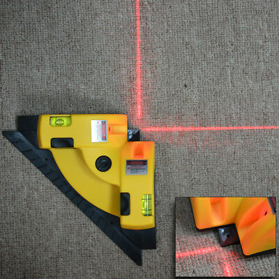 Vertical Horizontal Laser Line Projection Squar Level Right Angle 90 degree BI10