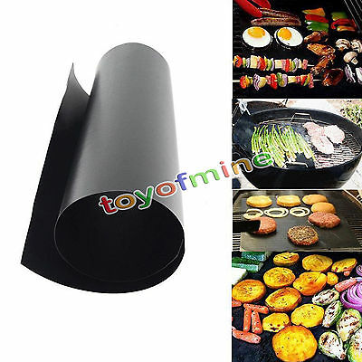 Non-stick BBQ Oven Base Trays Liner Plate Cooking Baking Sheet Mat Pat