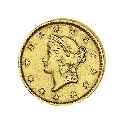 Goldmünze USA 1 $ Liberty Head 1849-1854