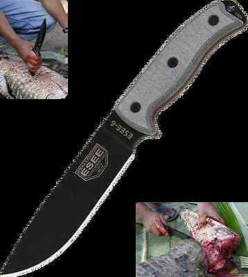 Esee Esee-6P 6P Esee6P Fixed Blade Knife With Coyote Brown Sheath.