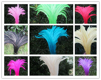 Free shipping 10-100pcs beautiful rooster feathers 12-14 inches / 30-35cm