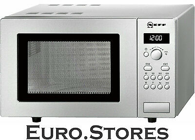 Neff HW5220N Microwave Oven Stainless Steel 17L 800W 5 Power Levels Genuine NEW