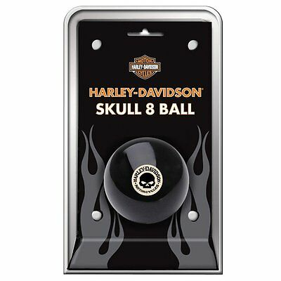 Harley-Davidson Billiard Pool Skull 8-Ball