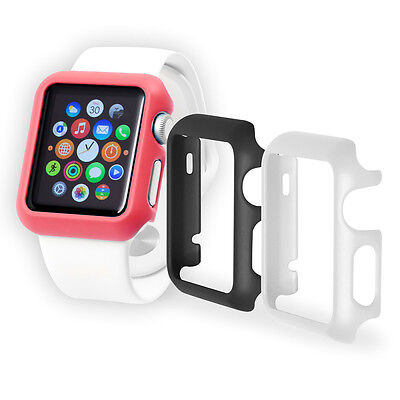 Trident 3 Pack Watch Guard Protector Case 38mm Sports Watchguard Apple Watch New