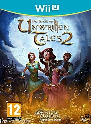 The Book Of Unwritten Tales 2 Game For Nintendo Wii U PAL Brand New And Sealed