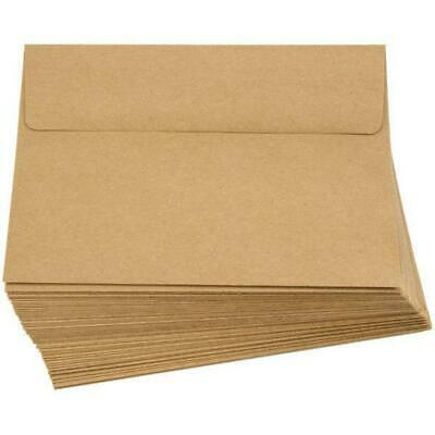 50 Kraft Envelopes 5x7 Envelopes A7 (13cm x 18cm)