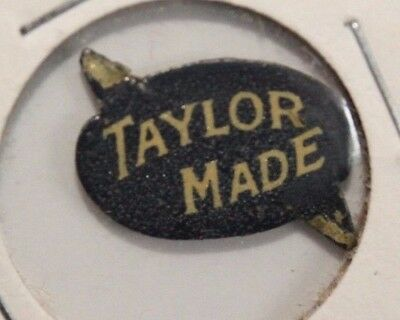 Old Advertising Tobacco Tag TAYLOR Made
