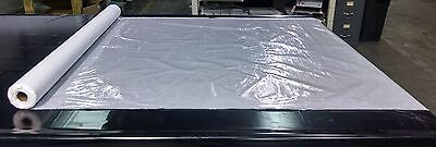 "Clear Vinyl Marine10 Gauge 54"" Wide By The Foot Window Enclosure Clear Vinyl"