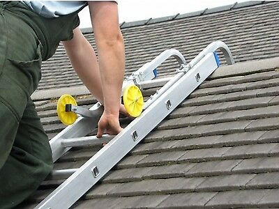 Universal Roof Hook Kit for Aluminium Extension Ladders   3 Years Warranty