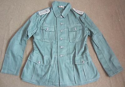 Wwii German M40 M1940 Hbt Summer Tunic- Large
